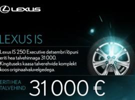 Lexus IS talvekampaania