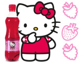 Maasika-vaarika Hello Kitty