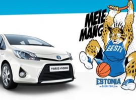 Toyota toetab Eesti kossu