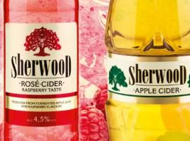 Sherwood Rosé & Apple trükimaterjalid